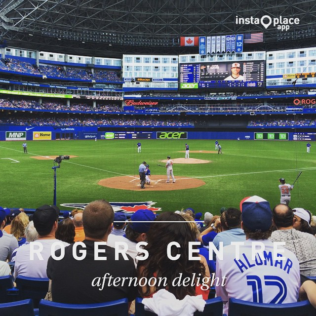 バックネット裏 #instaplace #instaplaceapp #place #earth #world  #カナダ #canada #CA #トロント #rogerscentre #art #street #day – from Instagram