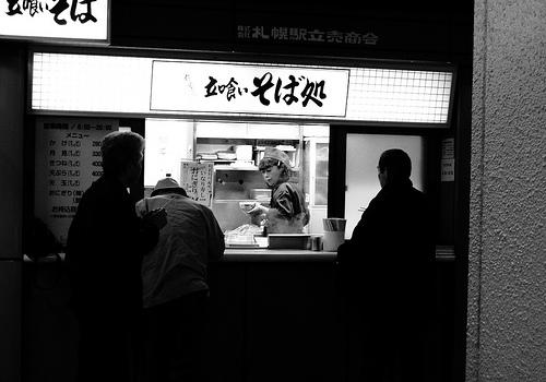 【食べ物・お店】立ち食い?:焼肉もステーキも?