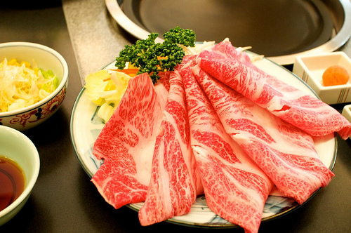 【食べ物・お店】佐賀牛のお肉というかステーキというか:華守KIWAMI 1500円也!