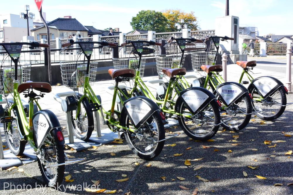 【国内】金沢のまちのり自転車:レンタル自転車で観光して回りました