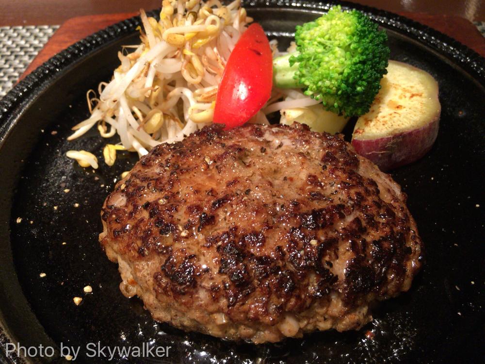 【食べ物・お店】A5等級の佐賀牛ハンバーグ!:唐津のキャラバンのランチがすごい