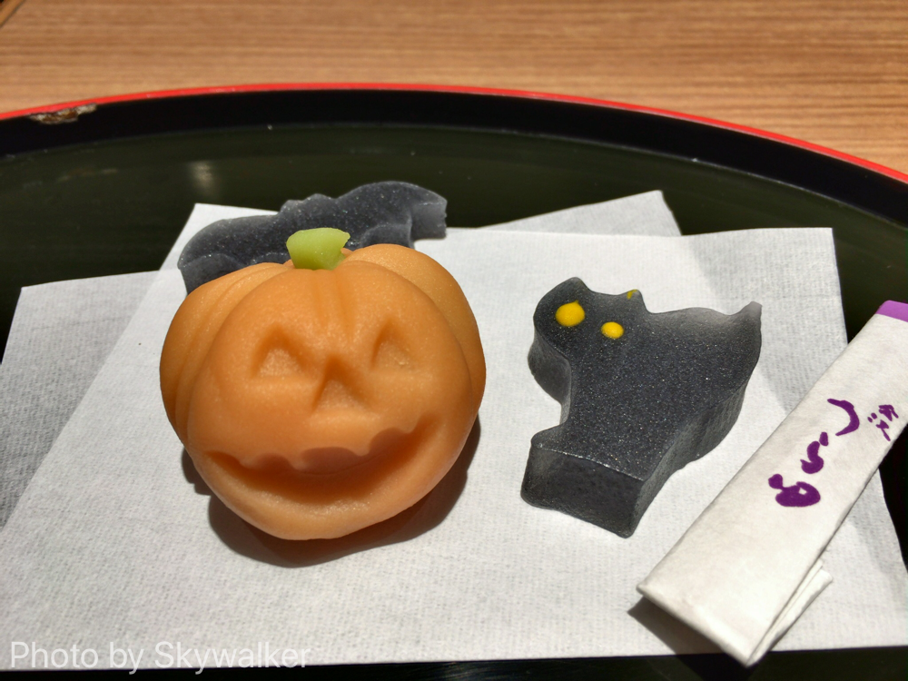 【食べ物・お店】金沢駅ナカ金澤ちとせ珈琲:珈琲セットの和菓子がステキ