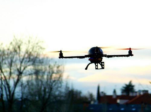【お気に入り】Drone再び!:今度はミニも来た!