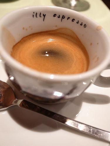 【日々のこと】キャトル・キャフェ、シルブプレ:エスプレッソで四杯まで