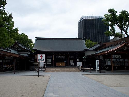 【日々のこと】佐嘉神社に行って来ました:御札を戻しに行くと…