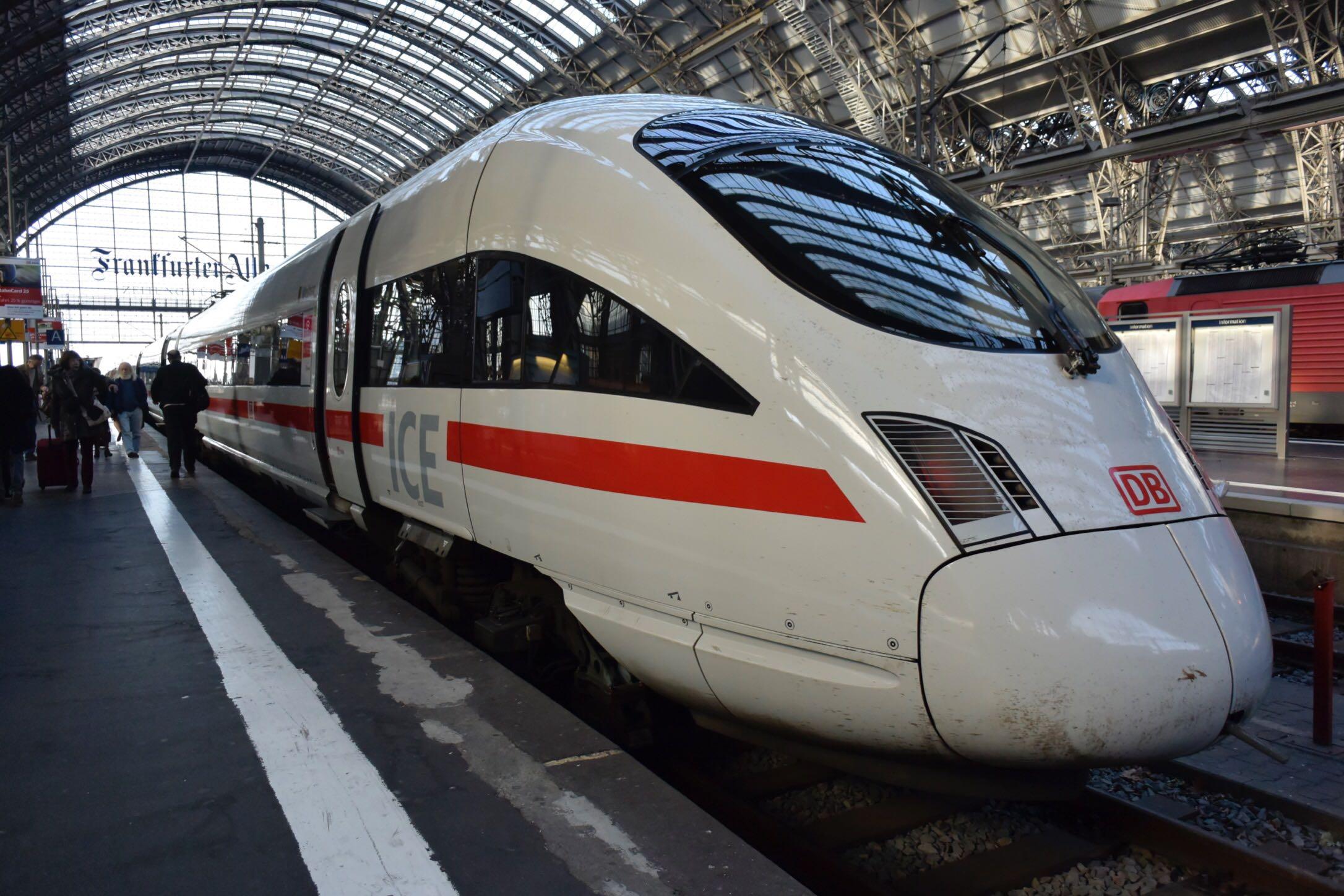 【海外】ドイツのトレインは主に平野で止まる:誰も動じません