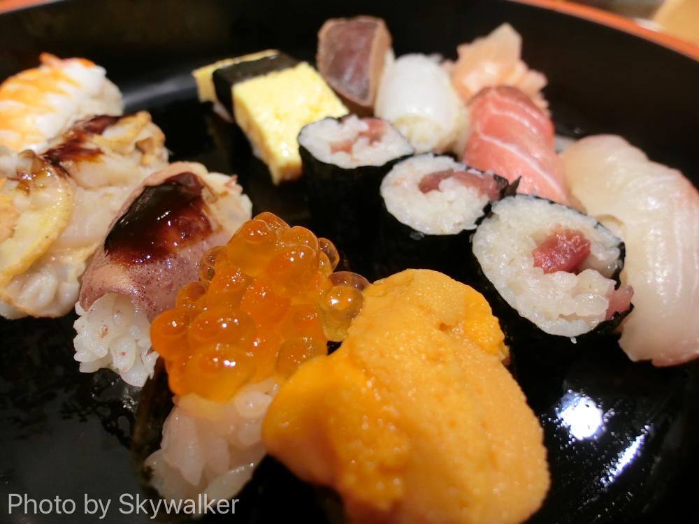 【食べ物・お店】銀座のコスパ寿司ランチ:すし小川 ウニ丼無しでもおいしかったよ