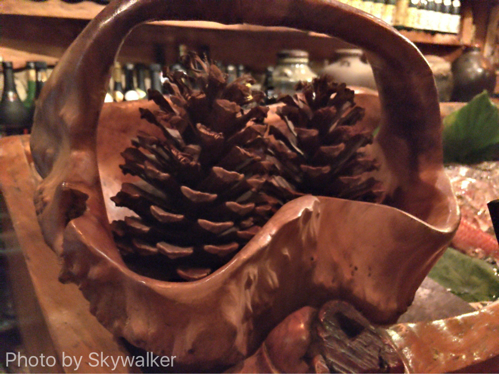【食べ物・お店】沖縄のお母さんの味:琉球松が暖かいまーちぬ家